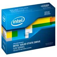 """Intel 520 Series 120GB SATA III 6Gb/s 2.5"""" Internal Solid State Drive SSD)"""